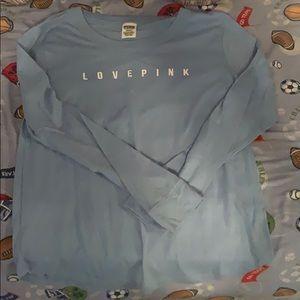 Love pink long sleeve shirt
